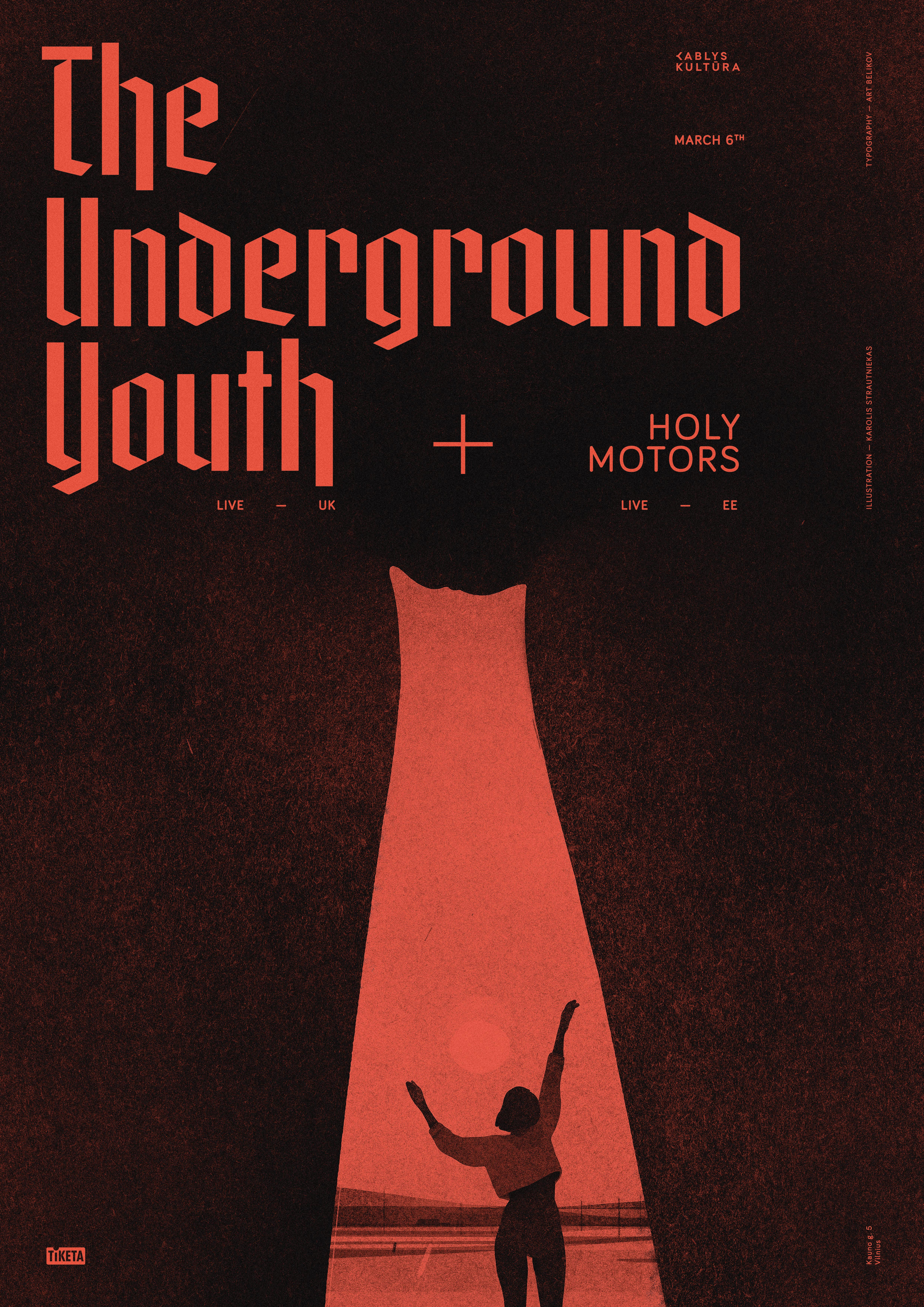 The Underground Youth Live Show Poster