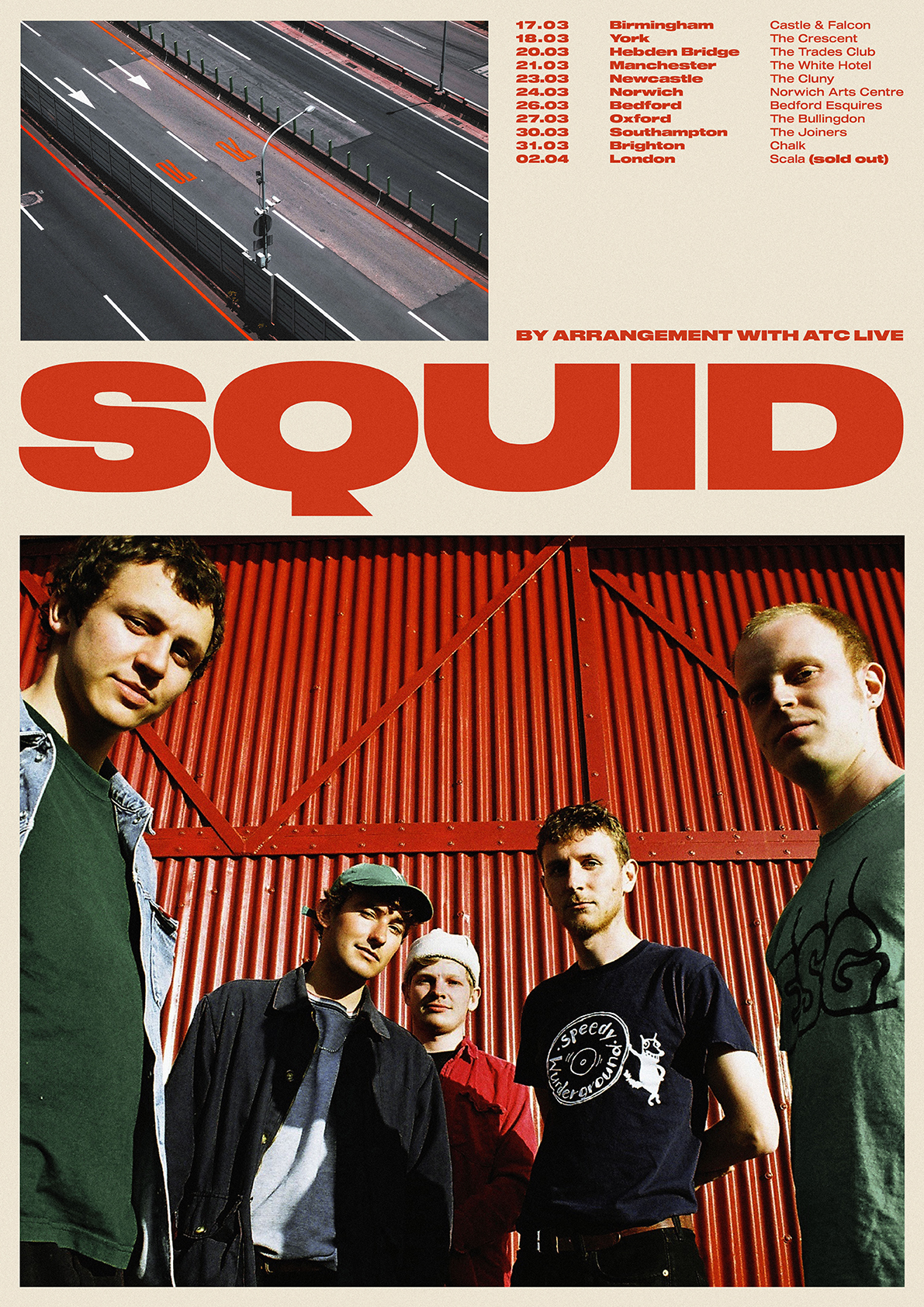 Squid UK Tour